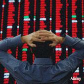 Market crash trade screen